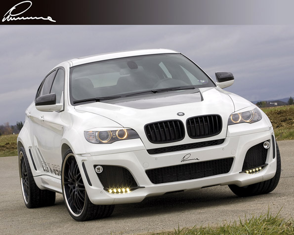 Obrázek na plochu v rozlišení 1280 x 1024 - BMW Lumma clr pohled zpředu