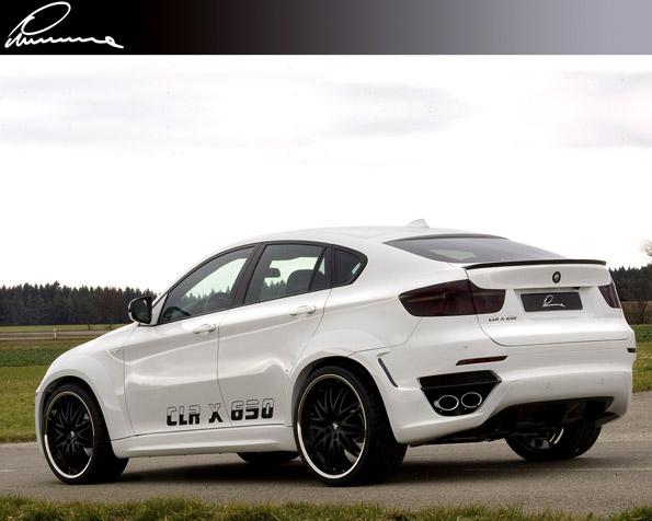 Obrázek na plochu v rozlišení 1280 x 1024 - BMW Lumma clr pohled ze zadu
