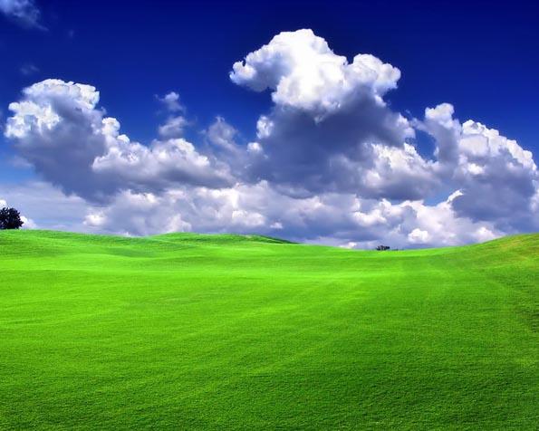 Obrázek na plochu v rozlišení 1280 x 1024 - Modrá obloha