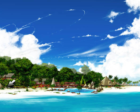 Obrázek na plochu v rozlišení 1280 x 1024 - Paradise