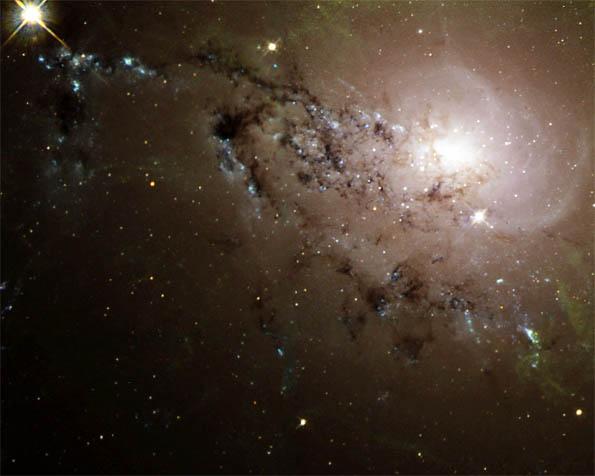 Volba: tapeta v rozlišení 1280 x 1024 - Vzdálená galaxie