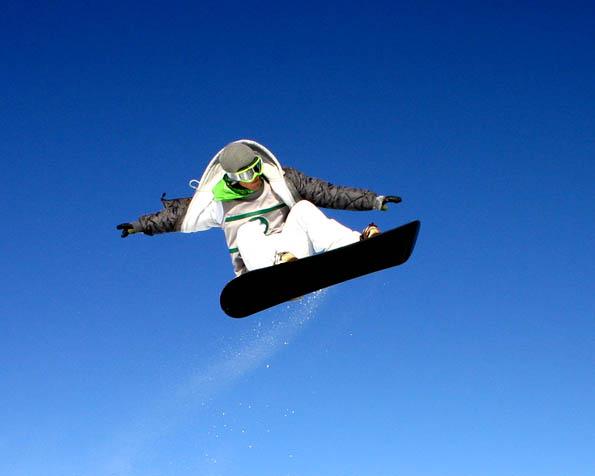 Volba: tapeta v rozlišení 1280 x 1024 - Snowboarder