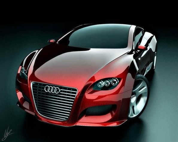 Volba: tapeta v rozlišení 1280 x 1024 - Audi Lotus Koncept