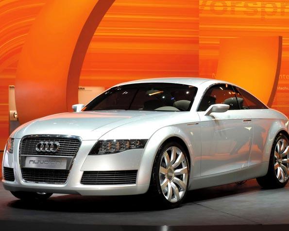 Volba: tapeta v rozlišení 1280 x 1024 - Audi na veletrhu