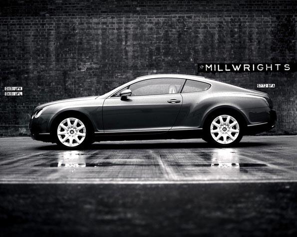 Obrázek na plochu v rozlišení 1280 x 1024 - Bentley boční pohled