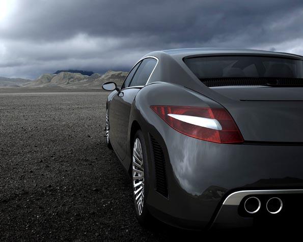 Obrázek na plochu v rozlišení 1280 x 1024 - BMW concept