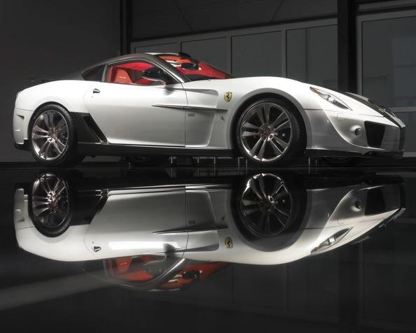 Obrázek na plochu v rozlišení 1280 x 1024 - Ferrari 599