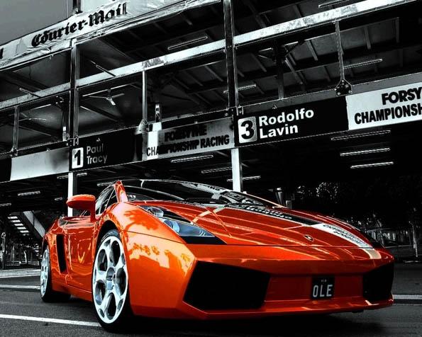 Volba: tapeta v rozlišení 1280 x 1024 - Lamborghini Gallardo