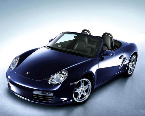 Volba: tapeta v rozlišení 1280 x 1024 - Porsche Boxster